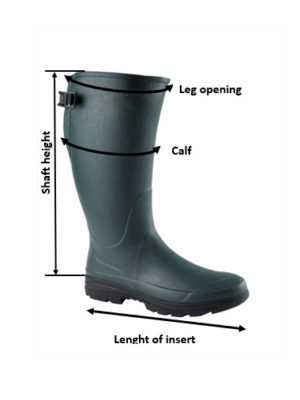 Hound Boot sizing